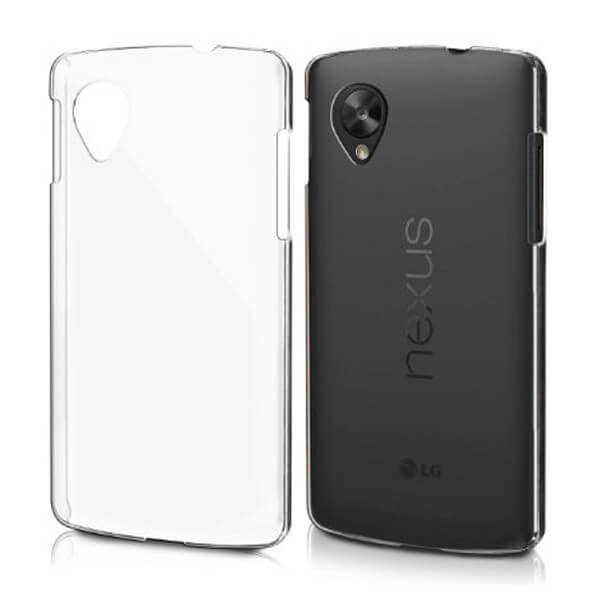 Hard Clear Case for LG Nexus 5