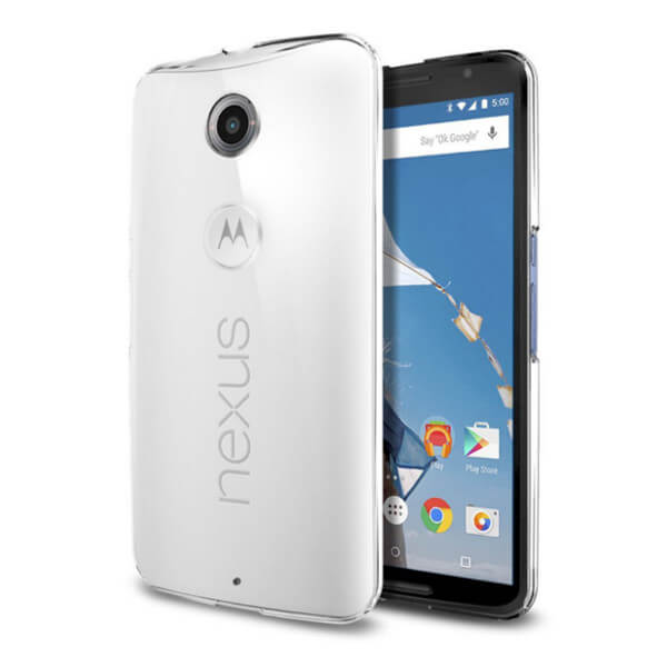 Hard Clear Case for Motorola Nexus 6