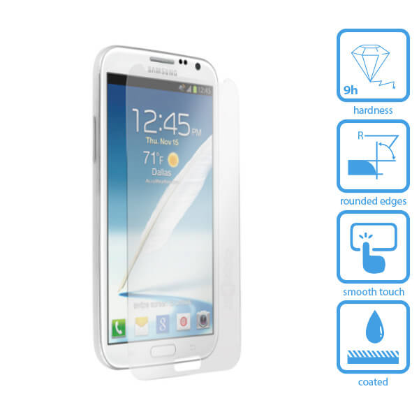 Galaxy Note 2 Tempered Glass Screen Protector