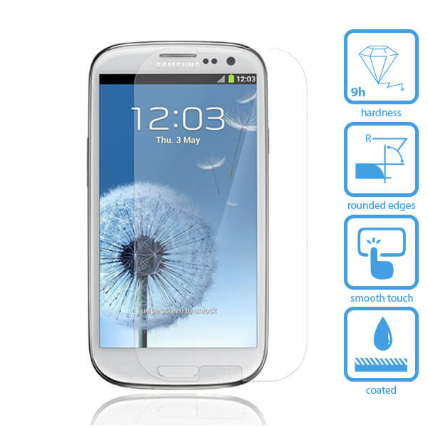 Galaxy S3 Tempered Glass Screen Protector