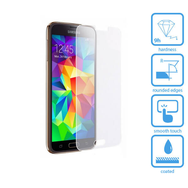 Galaxy S5 Tempered Glass Screen Protector
