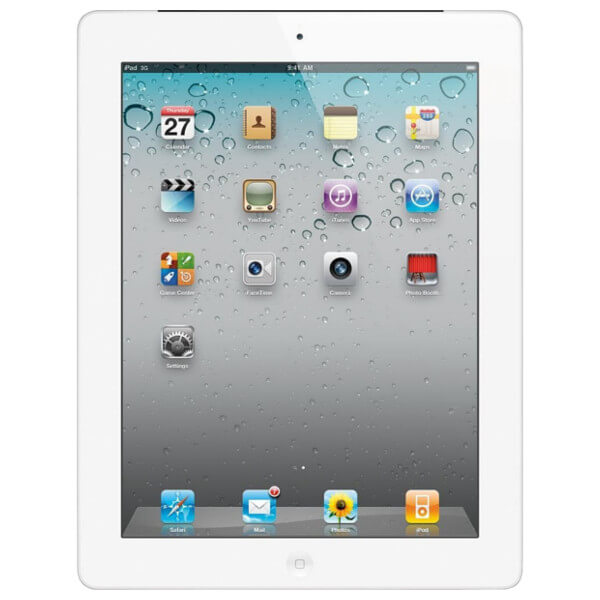 Apple iPad 2 WiFi 16GB White (Used)