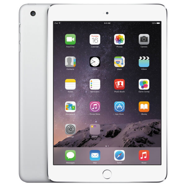 Apple iPad Mini 3 4G 64GB Silver (Used)