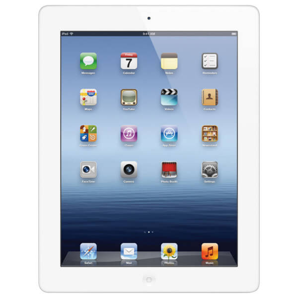 Image of Apple iPad 3 WiFi 32GB White (Used)