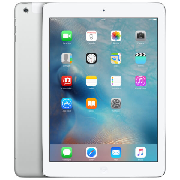 Image of Apple iPad Air 1 WiFi 32GB Silver (Used)