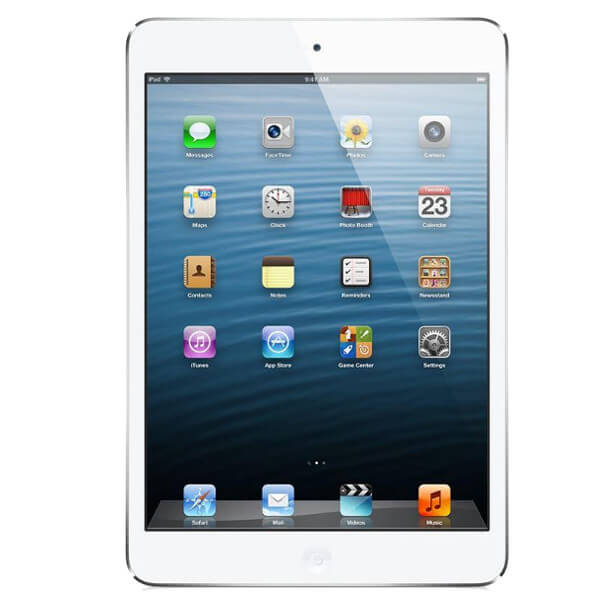 Image of Apple iPad Mini 1 WiFi 32GB White Silver (Used)