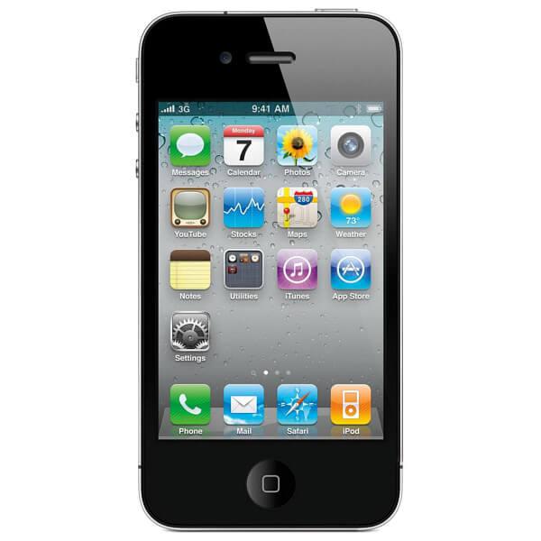 Image of Apple iPhone 4 16GB Black (Used)