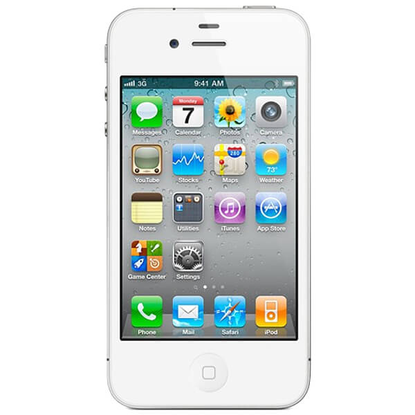 Image of Apple iPhone 4 16GB White (Used)