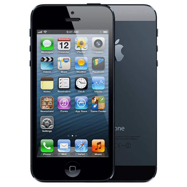Image of Apple iPhone 5 32GB Black Slate (Used)