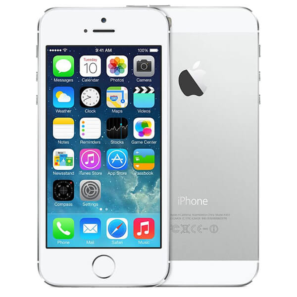 Image of Apple iPhone 5 64GB White Silver (Used)