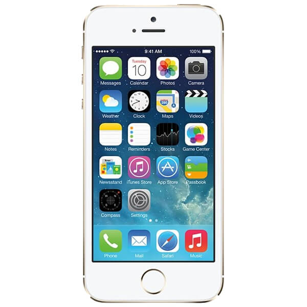 Image of Apple iPhone 5S 64GB White Silver (Used)