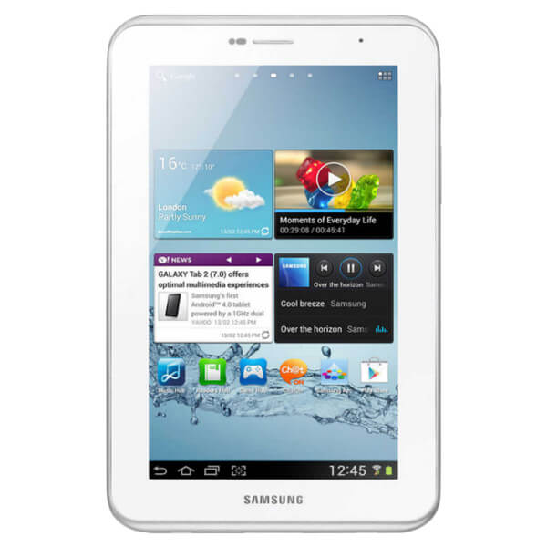 Image of Samsung Galaxy Tab 2 7.0 P3110 WiFi 8GB White (Used)