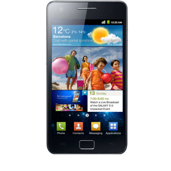 Image of Samsung Galaxy S2 4G 16GB Black (Used)