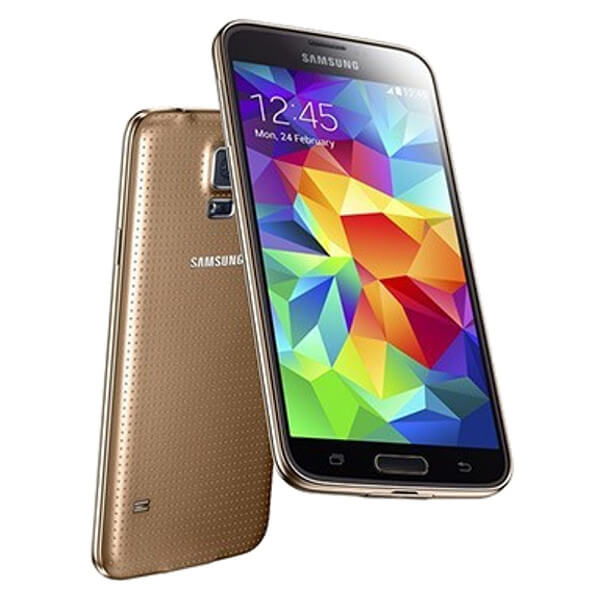 Image of Samsung Galaxy S5 16GB Gold (Used)