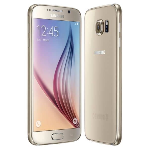 Image of Samsung Galaxy S6 32GB Gold (Used)
